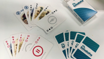 Photo of Creative Commons Release 'Em Poker card deck.