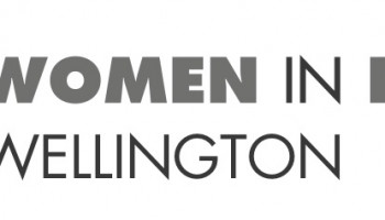 Women in Data Science Wellington logo.