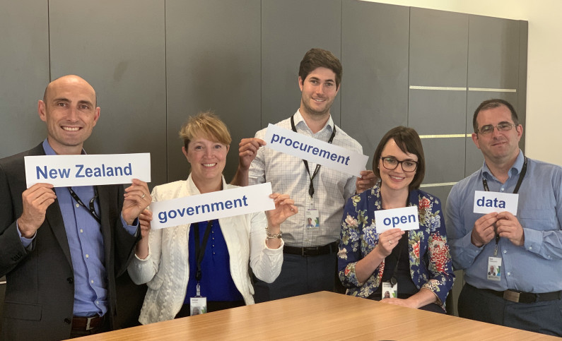 NZ government procurement open data team